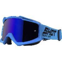 Lunettes De Conduite - Masque SHOT Lunettes Iris Bleu - Shot Race Gear