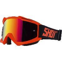 Lunettes De Conduite - Masque SHOT Lunettes Iris Neon Orange Mat - Shot Race Gear