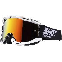 Lunettes De Conduite - Masque SHOT Lunettes Iris Recall Noir Blanc - Shot Race Gear