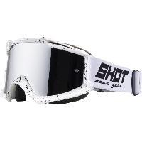 Lunettes De Conduite - Masque SHOT Lunettes Iris Scratch Blanc - Shot Race Gear