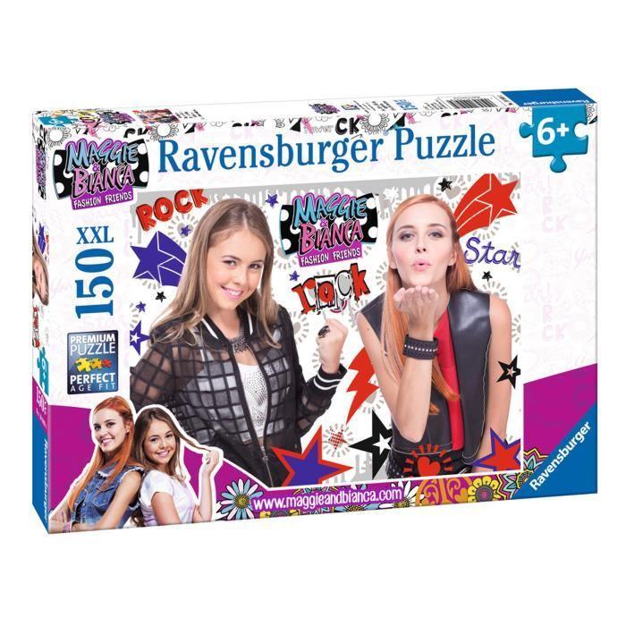 MAGGIE-et-BIANCA-Puzzle-Girls-Rock-150-pcs-Ravensburger miniature 2
