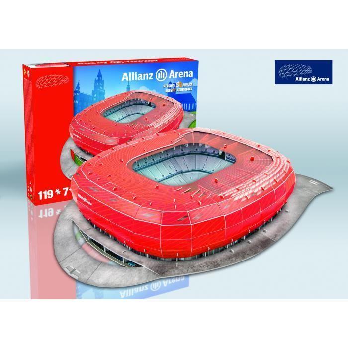 MEGABLEU-Puzzle-Stade-3D-Allianz-Arena miniature 2