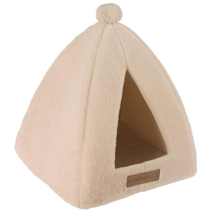 M-PETS-Tipi-Yull-Beige-Pour-chat