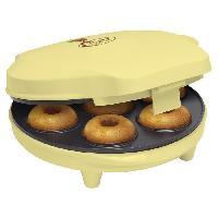 Machine A Beignets - Machine A Donuts ADM218SD Appareil a donuts - Jusqu'a 7 en meme temps - Jaune Pastel