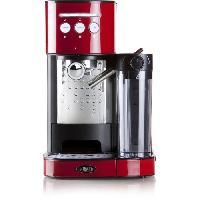 Machine A Expresso BORETTI B401 Machine a expresso 15 bars - Cappuccino et latte avec mousse de lait - Rouge