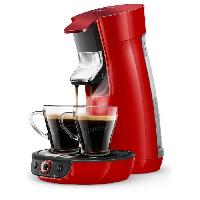 Machine A Expresso HD656481 Machine a cafe a dosette Viva Duo Select - Rouge