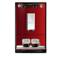 Machine A Expresso MELITTA E950-104 Machine expresso automatique avec broyeur Caffeo Solo - Rouge