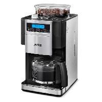 Machine A Expresso PRINCESS 249402 Cafetiere filtre avec broyeur - Inox
