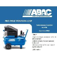 Machine Outil ABAC Compresseur a piston Pro Pole Position L25P - 24 L - 2.5 CV - 10 Bars - 16.2 m³/h - 230 V Mono