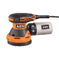 Machine Outil AEG Ponceuse excentrique EX125ED-SET - 300 W - Ø 125 mm