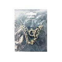Maille - Chaine - Bracelet Pampille Bracelet 22 cm - Argente