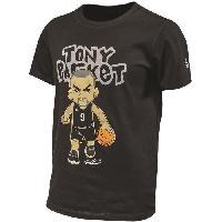 Maillot - Debardeur - T-shirt - Polo De Basket-ball PEAK T-shirt Tony Parker - Enfant - Rouge - 8 ans