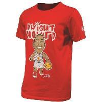 Maillot - Debardeur - T-shirt - Polo De Basket-ball PEAK T-shirt de Basket Dwight Howard - Enfant - Rouge - 10 ans