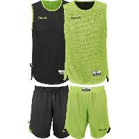 Maillot - Debardeur - T-shirt - Polo De Basket-ball SPALDING Mini Kit Basketball Entrainement Réversib BKT - M = 176 cm