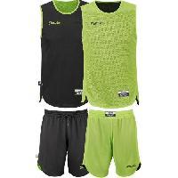 Maillot - Debardeur - T-shirt - Polo De Basket-ball SPALDING Mini Kit Basketball Entrainement Réversib BKT - XXS = 128 cm