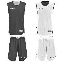Maillot - Debardeur - T-shirt - Polo De Basket-ball SPALDING Mini Kit Basketball Entrainement Réversible Enfant BKT - M = 176 cm