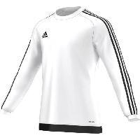 Maillot - Debardeur - T-shirt - Polo De Football ADIDAS ESTRO 15 Maillot Manches Longues - Blanc/Noir - XL - Adidas Performance