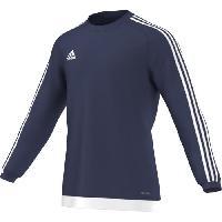 Maillot - Debardeur - T-shirt - Polo De Football ADIDAS ESTRO 15 Maillot Manches Longues - Bleu/Blanc - XL - Adidas Performance