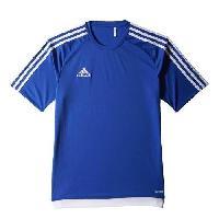 Maillot - Debardeur - T-shirt - Polo De Football ADIDAS Maillot de Football Estro 15 Bleu Blanc