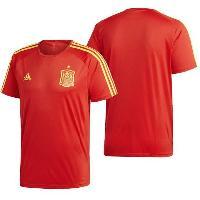Maillot - Debardeur - T-shirt - Polo De Football ADIDAS Maillot de Football FEF Espagne - Homme - Rouge - S
