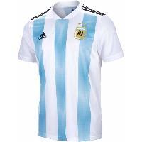 Maillot - Debardeur - T-shirt - Polo De Football ADIDAS Maillot de Football Jersey AFA Argentine - Homme - Bleu et Blanc - XS