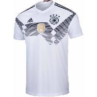 Maillot - Debardeur - T-shirt - Polo De Football ADIDAS Maillot de Football Jersey DFB Allemagne - Homme - Blanc - M - Adidas Performance