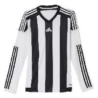 Maillot - Debardeur - T-shirt - Polo De Football ADIDAS Maillot de Football Striped 15 Blanc Noir