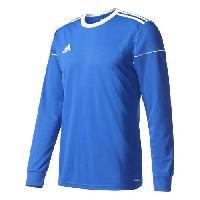 Maillot - Debardeur - T-shirt - Polo De Football ADIDAS Maillot de Football manches longues Squadra 17 Bleu Blanc