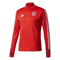 Maillot - Debardeur - T-shirt - Polo De Football ADIDAS Maillot d'entrainement de football Bayern 17 - Mixte - Rouge - L