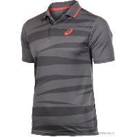 Maillot - Debardeur - T-shirt - Polo De Football ASICS Polo Manches Courtes Tennis Homme - S