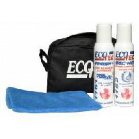 Maintenance & brillance Pack cosmetique - Trousse + Finish + Sec-Net + Microfibre - 5013 Ecotec