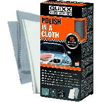 Maintenance & brillance Polish avec chiffon en coton Quixx