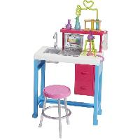 Maison - Accessoire Maison Poupee BARBIE - Laboratoire - Mattel