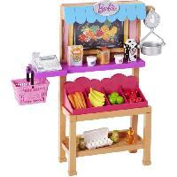 Maison - Accessoire Maison Poupee BARBIE - Stand Fruits et Legumes