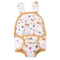Maison - Accessoire Maison Poupee Baby Nurse Sac Porte Bebe Reversible