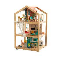 Maison - Accessoire Maison Poupee KIDKRAFT Maison de poupée Ultra chic en Bois - avec EZ Kraft Assembly?