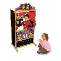 Maison - Accessoire Maison Poupee MELISSA et DOUG Theatre De Marionnettes