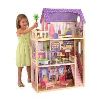 Maison - Accessoire Maison Poupee Maison de poupees en bois KAYLA