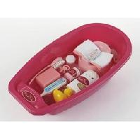 Maison - Accessoire Maison Poupee PRINCESS CORALIE - Baignoire grand modele avec accessoires - Klein