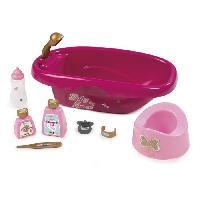Maison - Accessoire Maison Poupee SMOBY Baby Nurse - Set Baignoire + Accessoires