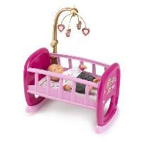 Maison - Accessoire Maison Poupee SMOBY Baby Nurse Berceau A Barreaux pour Poupon