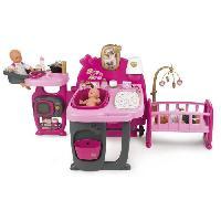 Maison - Accessoire Maison Poupee SMOBY Baby Nurse Grande Maison des Bébés - 23 Acs