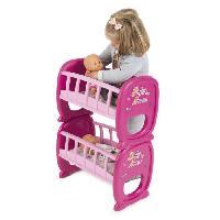 Maison - Accessoire Maison Poupee SMOBY Baby Nurse  Lits Duo A Barreaux pour Poupon