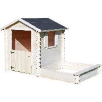Maison De Jeux Exterieure - Maisonnette Cabane en bois pour enfant  AMANDE - Soulet