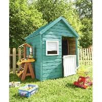 Maison De Jeux Exterieure - Maisonnette Cabane en bois pour enfant  MARIA - Generique