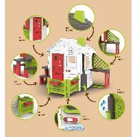 Maison De Jeux Exterieure - Maisonnette SMOBY - Acs Maison Néo Jura Lodge Table Jardin