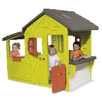 Maison De Jeux Exterieure - Maisonnette SMOBY Maison Enfant Néo Floralie avec Sonnette