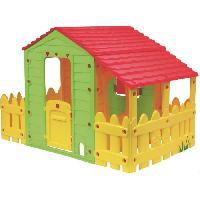Maison De Jeux Exterieure - Maisonnette VARDA Maisonnette Cabane exterieure Enfant Ferme avec Veranda