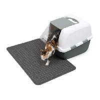 Maison De Toilette - Filtre A Charbon - Tapis Exterieur CAT IT Tapis pour bac a litiere - Grand format - 90 x 60 cm -35.5 x 23.5 po- - Pour chat