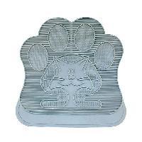 Maison De Toilette - Filtre A Charbon - Tapis Exterieur DUVO Tapis en caoutchouc pour litiere - 49x34 cm - Gris - Pour chat